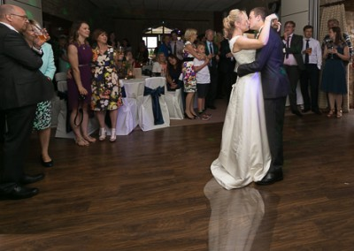 9. The first dance